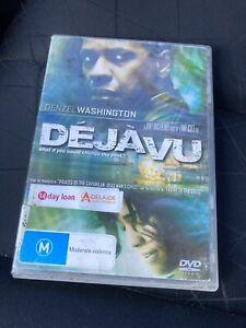 Deja Vu (DVD, 2007) Region 4 - Ex-library Item - Denzel Washington,Val Kilmer