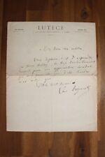 ✒ L.A.S Léon EPINETTE dit Léo TREZENIK hydropathe à Aurélien SCHOLL - Le Lutèce