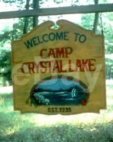 Friday the 13th (1980) Sign Scene 10x8 Photo