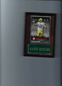AARON RODGERS PLAQUE GREEN BAY PACKERS FOOTBALL NFL   C5