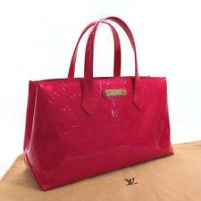 LOUIS VUITTON  M93643 Wilsher PM Handbag Monogram Vernis Women