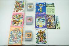 MARIO PARTY 1 2 3 Set N64 Nintendo 64 Box From Japan