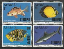 ETHIOPIA 1991 FISH SET MINT
