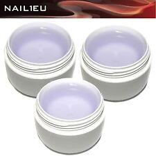 BASEILINE Nagelgel Set 3x30ml Aufbaugel Haftgel Versiegelungsgel / Builder Gel
