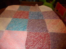 Chunky Patchwork Knit Blanket - Throw