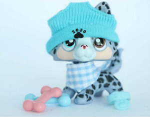 Lpsloverqa lps Custom Spotted dog Collect Figure with Accessories lots Kids Gift