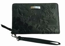 Rip Curl NALU RFID OVERSIZED LEATHER WALLET Travel Passport Purse - Black