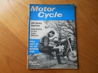 Motor Cycle Magazine - 18 march 1965 - BSA Servicing / AJS and Matchless Twins