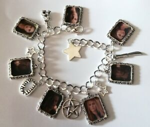 Silver Plated Charm Bracelet With Charms The Vampire Diaries The Originals Klaus