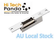Electric Strike Gate Lock Narrow-Type Access Control Short Faceplate Au Local