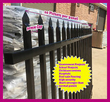 1800mm High Security Fence,Crimp top fencing, School Fence - $125.00