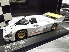 PORSCHE 956 K 956K Test session Paul Ricard for Le Mans Testcar Minichamps 1:43