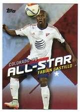 2016 Topps MLS Soccer All Stars #MLSA-12 Fabian Castillo FC Dallas
