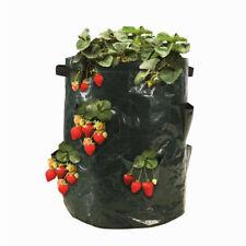 Strawberry Planter Bags Vertical Garden Hanging Vegetable Planting Grow Bag