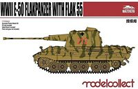 Modelcollect 1:72 Plastic Model Kit E-50 Flakpanzer with Flak 55 UA72020