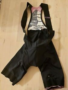 Assos T.equipe s7 Cycling Bib Shorts (Black Volkanga) Size XS USED