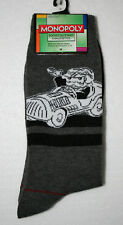 Mr Monopoly Driving Car Game Piece Hasbro New Pair Socks French? Fits 6-12