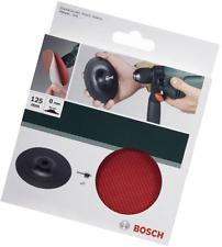 Bosch 2609256280 125 mm Plaque abrasive pour perceuse avec velcro-type Fermeture dé