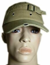 *NEW* Sand Coloured Distressed Look Cap Hat