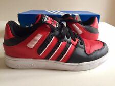 AdidasBucktownSt Street Originals Black / Red / White UK9 US9.5
