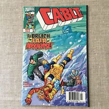 Cable Comic Book Marvel Comics To Breach the Lair of Apocalypse April 1998 #53