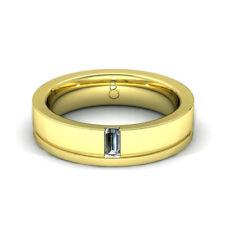 Gioielli da uomo oro gialli diamante 9 carati