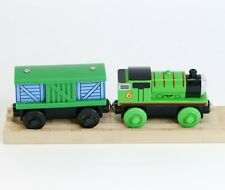 Thomas Wooden Railway PERCY & BOX CAR Engine Learning Curve 2003