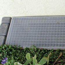 Lichtschacht Abdeckung Fiberglasgewebe 80 x 150 cm grau