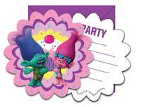 Dreamworks Trolls Party Children's Birthday Tableware Decorations