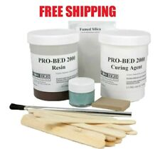 Score High 8 Ounce Brown Pro-Bed 2000 Complete Epoxy Rifle Stock Bedding Kit