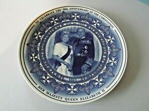WEDGWOOD DAILY MAIL QUEEN ELIZABETH 50TH ANNIVESARY OF THE CORONATION 2003
