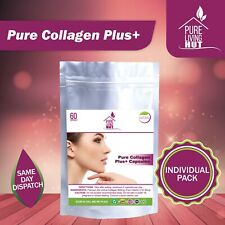 Pure Collagen Plus Capsules, Anti Ageing, Healthy Skin, Hair and Nails (1 month)