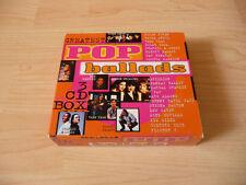3 CD Box Greatest Pop Ballads: Talk Talk Billy Idol Duran Duran Pat Benatar TPau