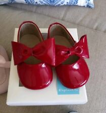 Nib Elephantito Patent Leather Red Shoes Size 2