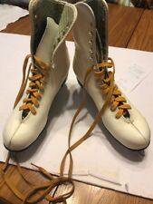 Vintage Ice Skates White Women's Ships N 24h Don't Know The Size See The Pic