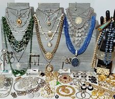 Large Estate Costume Jewelry Lot. Sarah Coventry, Trifari, Joan Rivers, Etc.