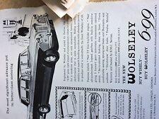 75-1 ephemera advert the new wolseley buy wisely cars