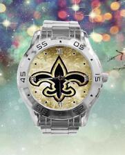 New Orleans Saints Custom Stainless Steel Analogue Men Or Women Unisex Watch