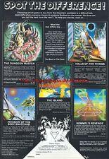 Vintage ZX Spectrum 48k Games 1983 Magazine Advert #5101