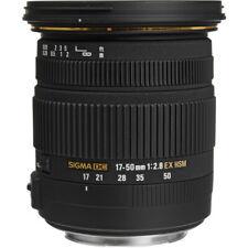 SIGMA 17-50mm F2.8 EX DG OS HSM ZOOM LENS for SIGMA FILM & DIGITAL CAMERAS