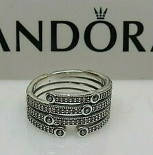 New w/Box Pandora Shimmering Ocean Frosty Mint Ring 191002CZF All Sizes Inc. XL