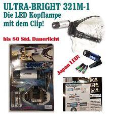 Ultra-Bright LED TORCIA DA TESTA 321m-1 LAMPADA Luce campeggio