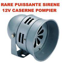 PROMO! SIRENE CASERNE POMPIER 12V 140db! JEEP LAND RANGE DEFENDER HDJ KDJ PATROL