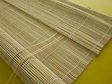 Bambusrollo Sichtschutz Bambus Vorhang Rollo Holzrollo Schnurzug Natur 80 X 160