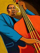 CHARLES MINGUS CIGAR PRINT poster jazz bass town hall concert cd cohiba smoke