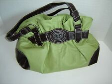 MONDO GATHERED HOBO PURSE HANDBAG SPRING GREEN BAG SOFT DECORATOR BAG must see!
