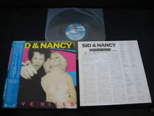 OST Sid & Nancy Japan Promo Label Vinyl LP w OBI Joe Strummer Clash Pogues