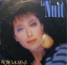 ROSE LAURENS la nuit/j'etais au rendez-vous SP45T 1986+