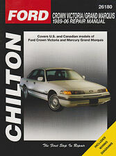 1989-2006 Chilton Ford Crown Victoria & Grand Marquis Repair Manual