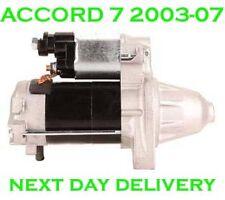 FITS Honda accord MK7 mk VII 2.4 civic mk 7 2.0 2.4 2001 02-2008 starter motor
